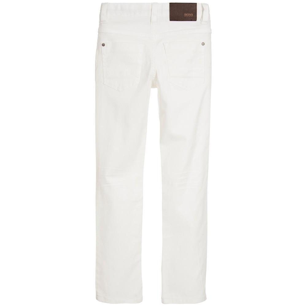Boys white pants hugo boss boys white jeans pants boys pants boss hugo boss [petit_new_york]  ... STXQRKS